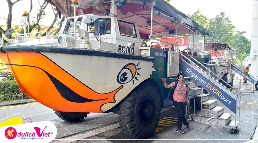 Free and Easy - Vé The Original Singapore Duck Tour