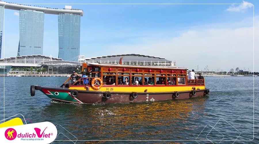 Free and Easy - Vé tham quan Singapore River Cruise giá tốt