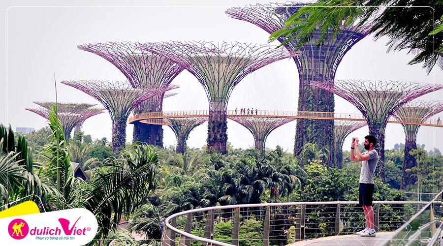 Free and Easy - Combo Gardens By The Bay + Đài quan sát Marina Bay Sands Skypark + Artscience Museum