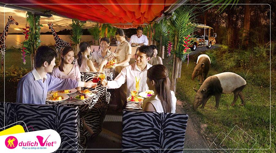 Free and Easy - Vé tham quan Night Safari Singapore giá tốt