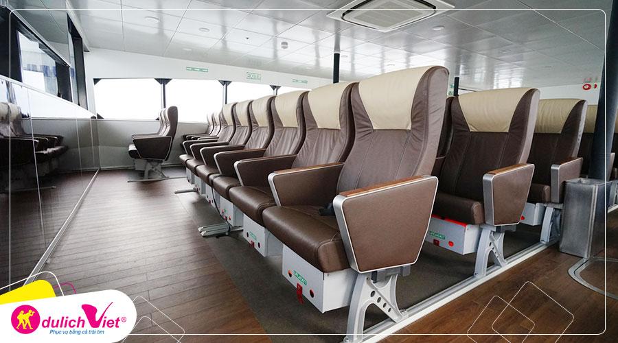 Free and Easy - Vé đi phà nhanh Majestic - Lộ trình Singapore và Batam