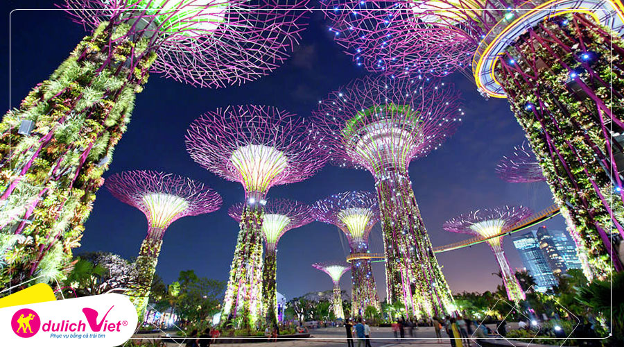 Free and Easy - Combo Gardens By The Bay + Đài quan sát Marina Bay Sands Skypark + Artscience Museum