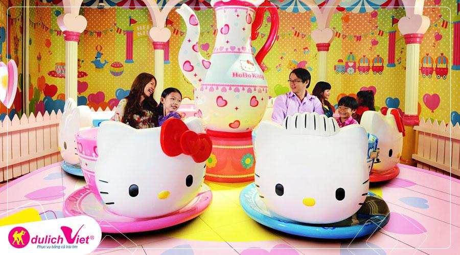 Free and Easy - Sanrio Hello Kitty Town Hoặc Thomas Town – Tour 1 Ngày