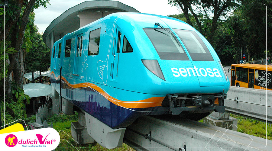 Free and Easy - Combo Sentosa Monorall Express + Thẻ EZ-Link
