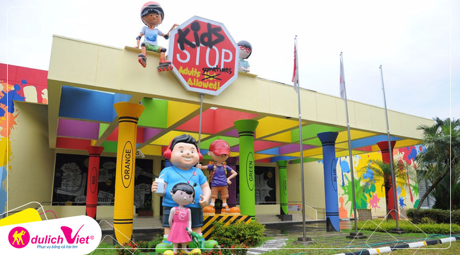 Free and Easy - Vé vào cửa Kidsstop Singapore