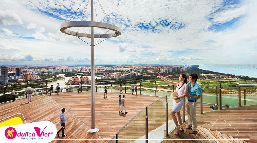 Free and Easy - Vé tham quan Marina Bay Sands ngắm toàn cảnh Singapore