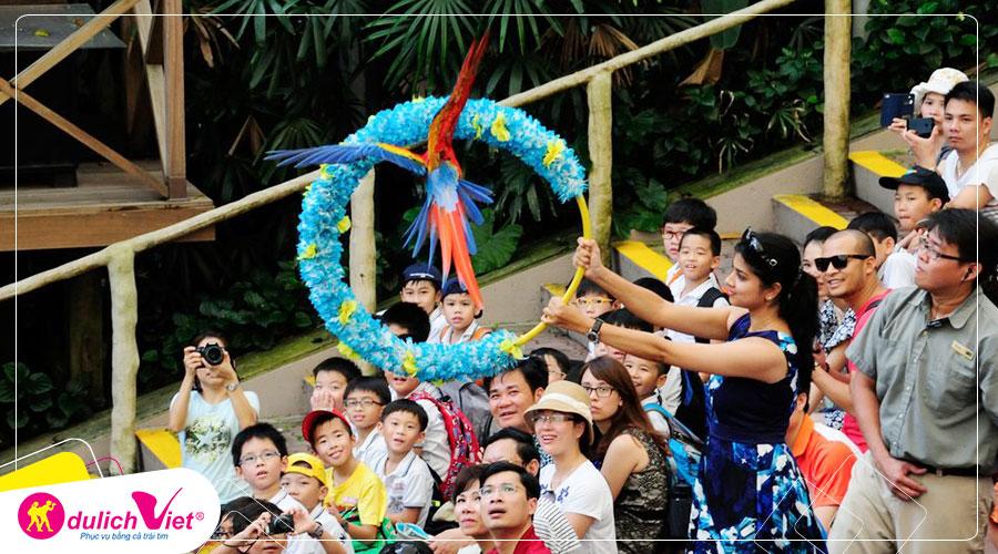 Free and Easy - Vé Tham Quan Vườn Chim Jurong có xe đưa đón 2 chiều