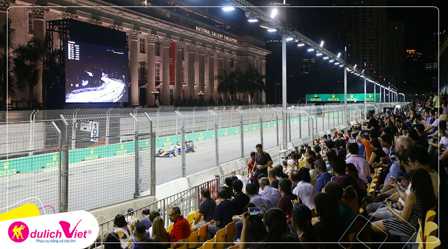 Free and Easy - Singapore Grand Prix - Vé Walkabouts