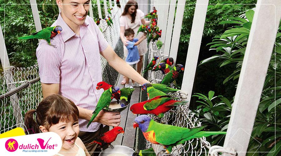 Free and Easy - Vé tham quan Vườn chim Jurong tại Singapore