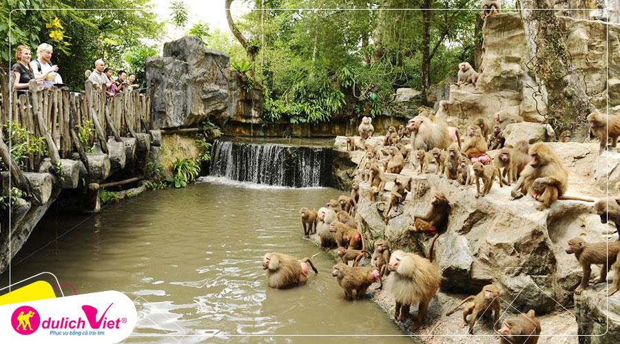 Free and Easy - Vé tham quan Singapore Zoo giá tốt