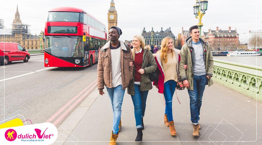 Du lịch Anh Tết Âm lịch 7 ngày 6 đêm khởi hành từ Sài Gòn 2020 giá tốt