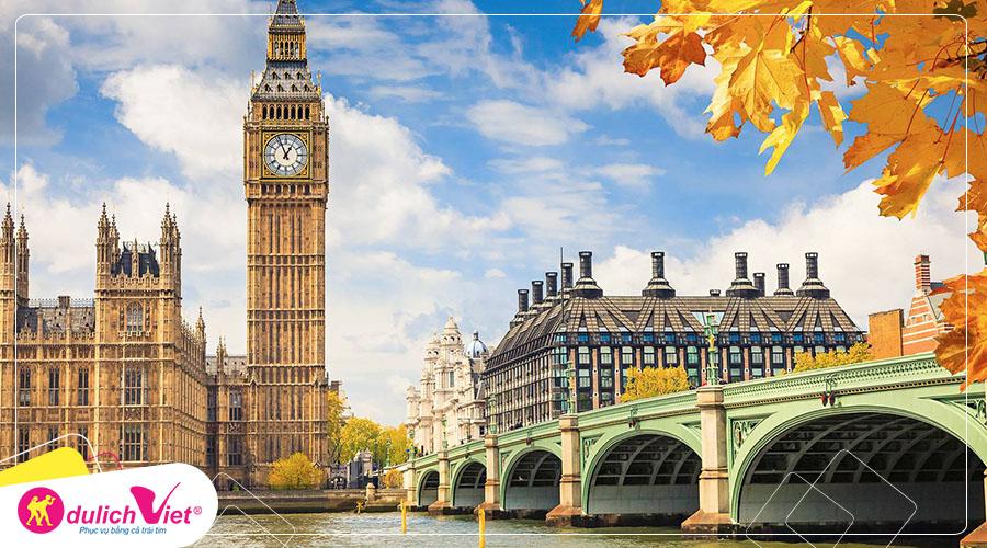 Du lịch Anh - Scotland mùa Thu 8 ngày 7 đêm khởi hành từ Sài Gòn giá tốt