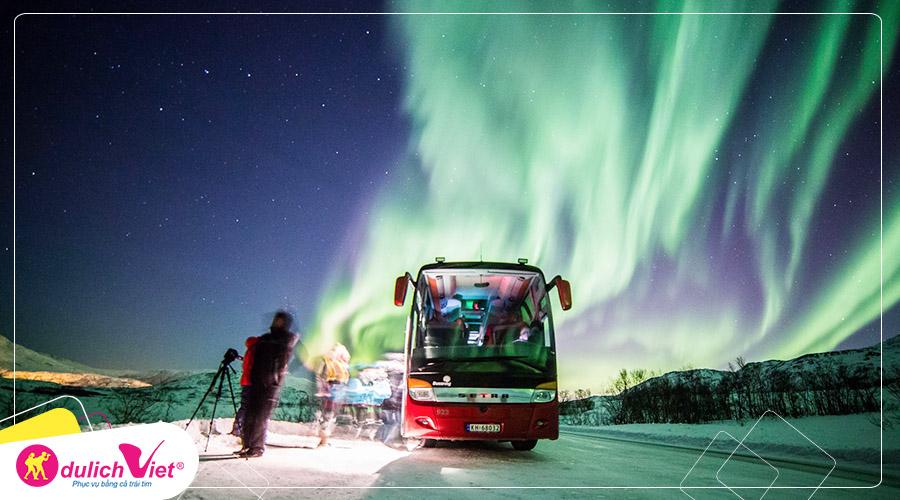 Du lịch Bắc Âu săn cực quang ở Iceland và Bắc Na Uy từ Sài Gòn giá tốt