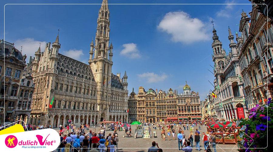 Du lịch Châu Âu - Đức - Luxembourg - Pháp - Bỉ - Hà Lan lễ hội hoa Keukenhof 2020 từ Sài Gòn