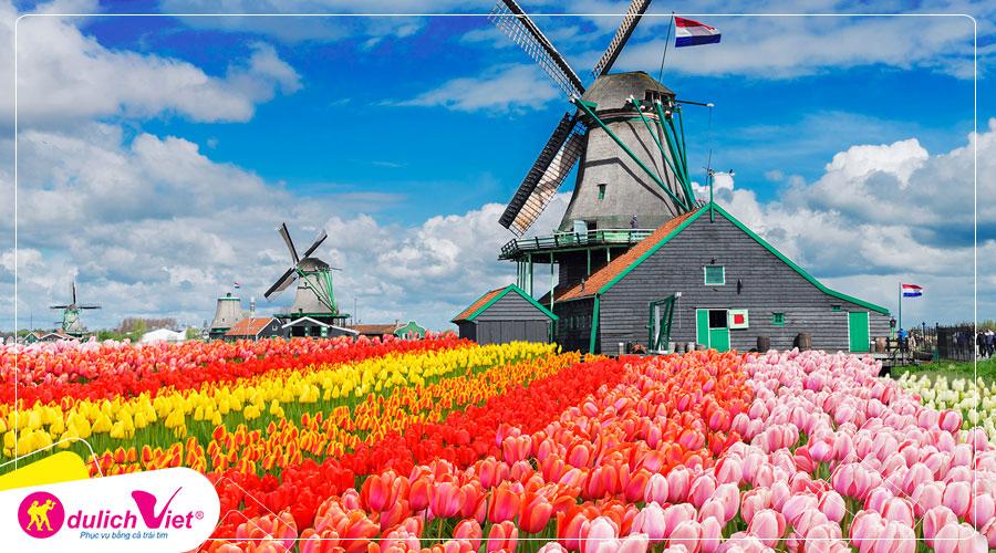 Du lịch Châu Âu - Pháp - Luxembourg - Bỉ - Hà Lan - Lễ hội hoa Keukenhof từ Sài Gòn giá tốt