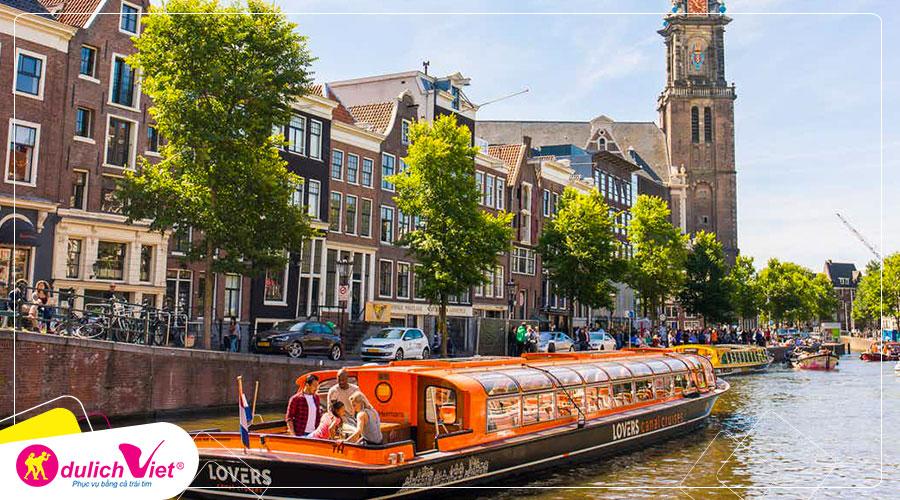 Du lịch Châu Âu - Pháp - Luxembourg - Bỉ - Hà Lan - Đức Lễ hội hoa Keukenhof từ Sài Gòn giá tốt