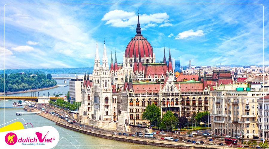 Du lịch Châu Âu - Pháp - Thụy Sĩ - Ý - Hungary - Slovakia - Áo - Séc mùa Xuân từ Sài Gòn giá tốt