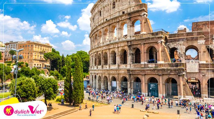 Du lịch Châu Âu - Pháp - Thụy Sĩ - Ý 8 ngày mùa Xuân từ Hà Nội giá tốt