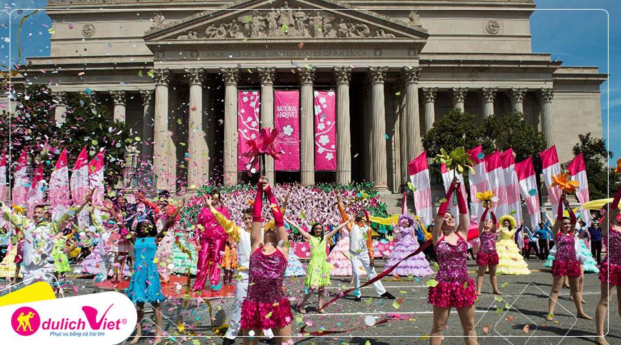 Du lịch Mỹ liên tuyến Đông Tây ngắm lễ hội hoa anh đào 10 ngày 9 đêm từ Sài Gòn giá tốt