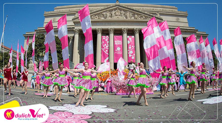 Du lịch Mỹ - New York - Philadelphia - Washington D.C lễ hội hoa anh đào 2020 từ Sài Gòn