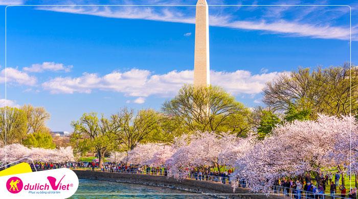 Du lịch Mỹ liên tuyến Đông Tây lễ hội hoa anh đào 2020 từ Sài Gòn giá tốt