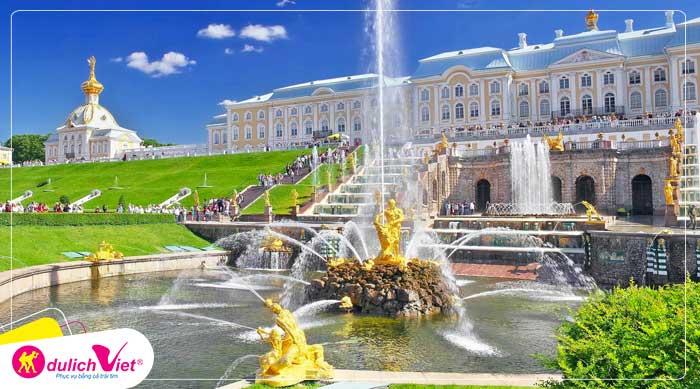 Du lịch Nga - Moscow - ST Petersburg mùa đêm trắng từ Sài Gòn 2020 giá tốt