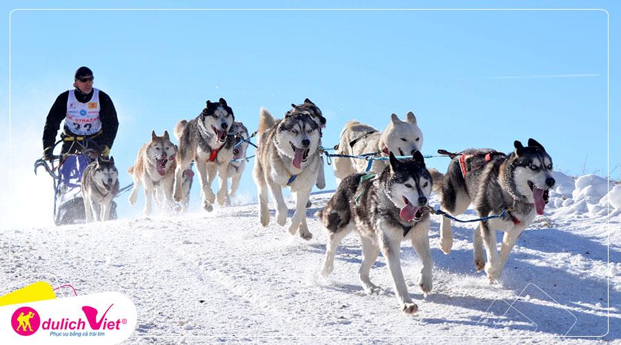 Du lịch Nga ngắm bắc cực quang Murmansk 8 ngày khởi hành từ Sài Gòn giá tốt
