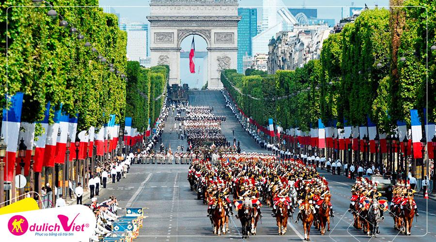 Du lịch Châu Âu - Pháp - Thụy Sĩ - Ý 8 ngày mùa Hè từ Sài Gòn giá tốt