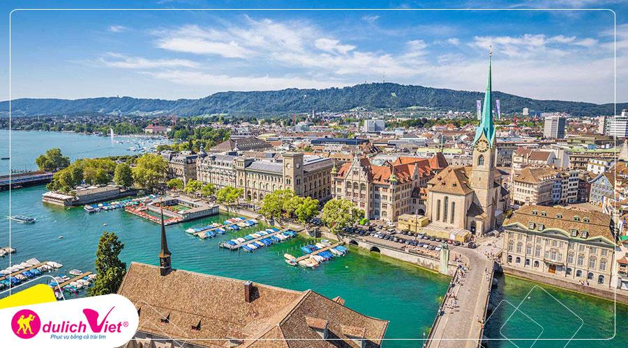 Du lịch Châu Âu - Pháp - Thụy Sĩ - Ý 8 ngày mùa Xuân từ Sài Gòn giá tốt