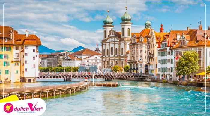 Du lịch Châu Âu - Pháp - Thụy Sĩ - Ý 8 ngày mùa Hè từ Hà Nội giá tốt