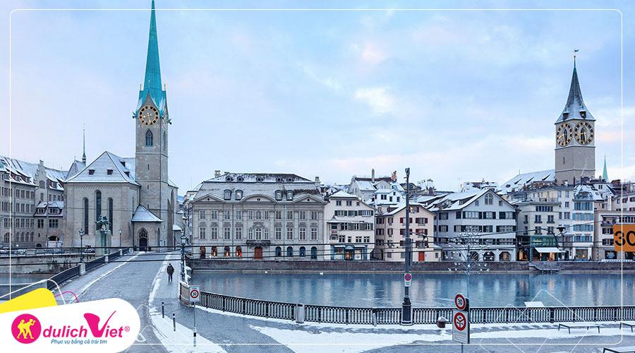 Du lịch Tết Nguyên Đán 2020 - Tour Pháp - Thụy Sĩ - Ý - Vatican từ Hà Nội giá tốt