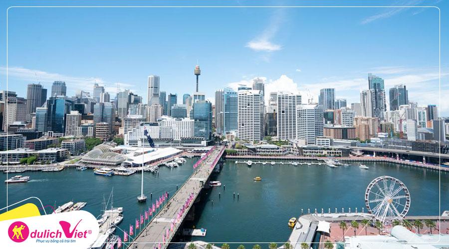 Du lịch Úc - Melbourne - Canberra - Sydney mùa Thu 2020 từ Sài Gòn giá tốt