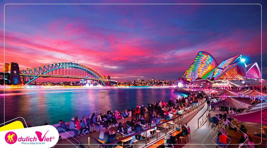 Du lịch Úc mùa Đông khám phá Sydney 5 ngày 4 đêm từ Sài Gòn giá tốt