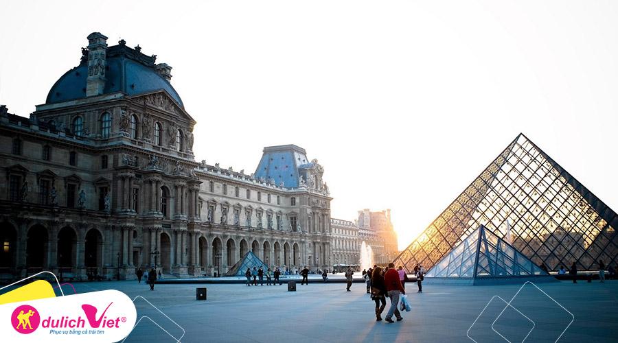 Du lịch thu - Pháp - Bỉ - Hà Lan - Đức khởi hành từ Sài Gòn 2019