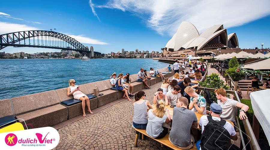 Du lịch Úc kết hợp mua sắm - Melbourne - Sydney mùa Xuân khởi hành từ Sài Gòn