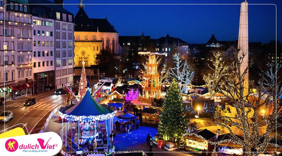 Du lịch Châu Âu - Pháp - Luxembourg - Bỉ - Hà Lan - Đức mùa Giáng Sinh từ Sài Gòn giá tốt