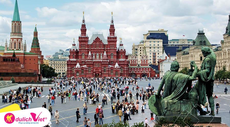 Du lịch Nga mùa Thu 8 ngày 7 đêm khởi hành từ Sài Gòn giá tốt