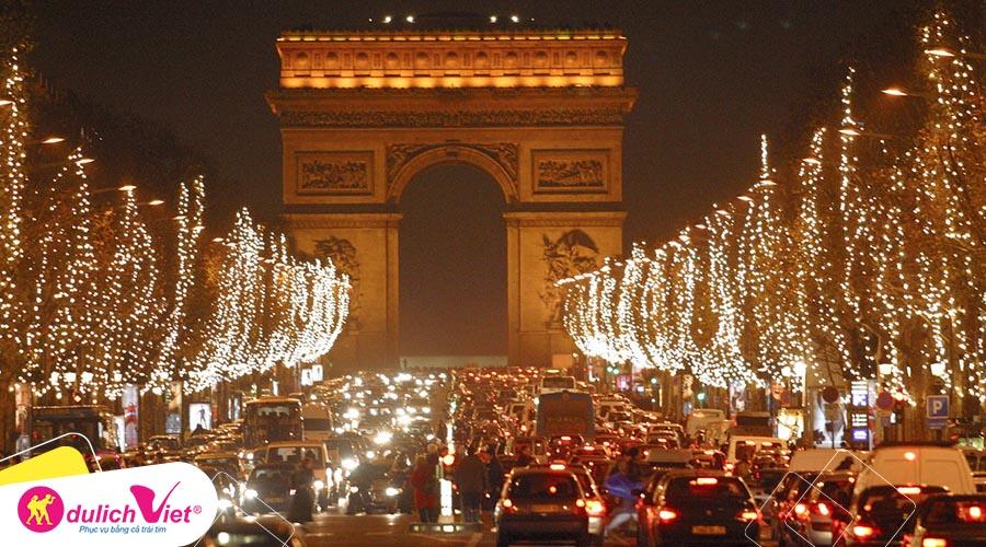 Du lịch Châu Âu - Pháp - Thụy Sĩ - Ý - Vatican - Monaco mùa Đông từ Sài Gòn giá ưu đãi