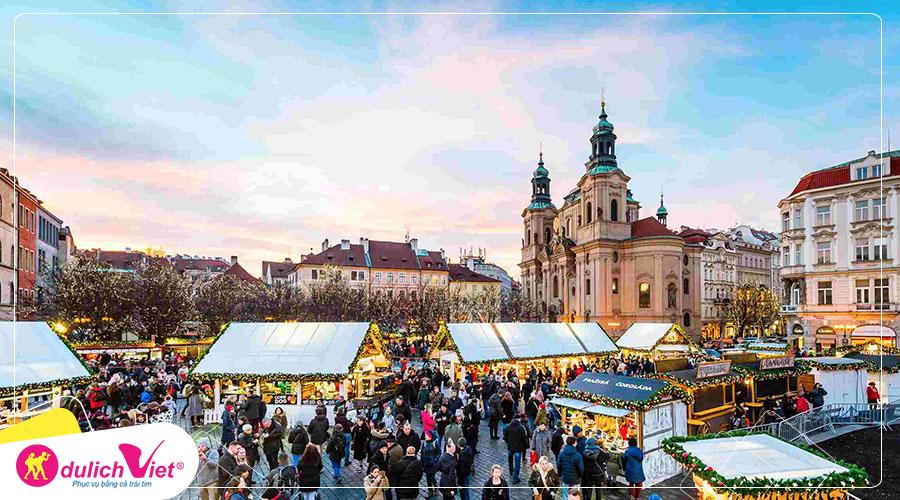 Du lịch Châu Âu - Đức - Áo - Séc - Làng Hallstatt mùa Đông từ Sài Gòn giá tốt