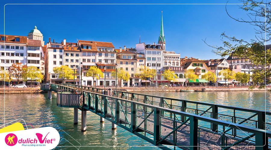 Du lịch Châu Âu - Pháp - Thụy Sĩ - Ý mùa Thu 8 ngày từ Sài Gòn giá tốt