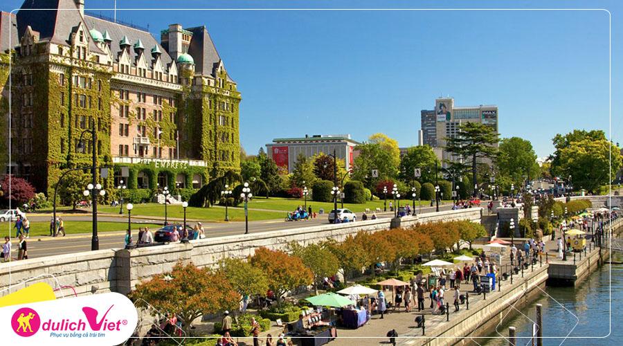 Du lịch Canada - Vancouver - Whistler - Victoria Island mùa Đông từ Sài Gòn giá siêu HOT