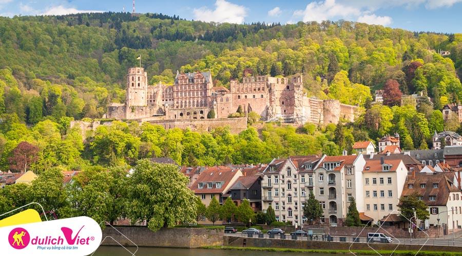 Du lịch Châu Âu - Pháp - Thụy Sĩ - Đức mùa Hè từ Sài Gòn giá tốt
