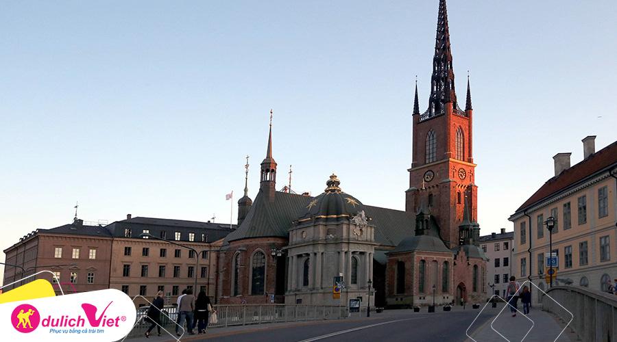 Du lịch Bắc Âu mùa hè Đan Mạch - Na Uy - Thụy Điển khởi hành từ Sài Gòn 2019