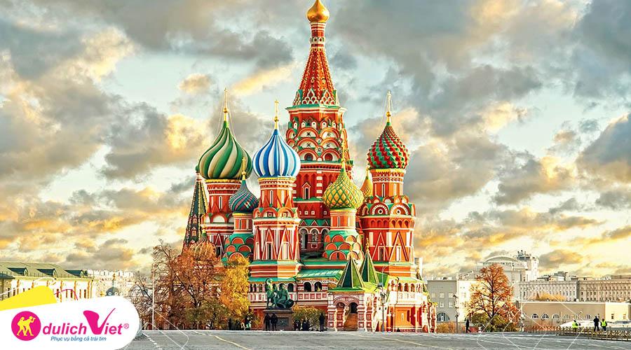 Du lịch Nga - Moscow - ST.Petersburg mùa Hè khởi hành từ Sài Gòn giá tốt