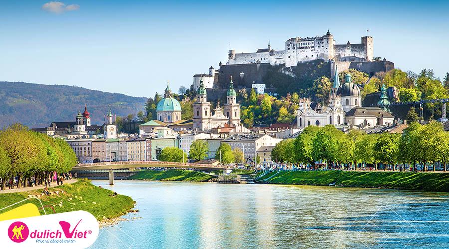 Du lịch Châu Âu - Đức - Áo - Séc - Làng Hallstatt mùa Thu từ Sài Gòn giá tốt