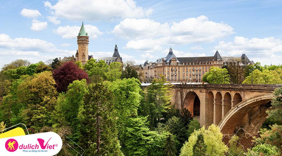 Du lịch Châu Âu - Pháp - Luxembourg - Bỉ - Hà Lan - Đức mùa Thu từ Sài Gòn giá tốt