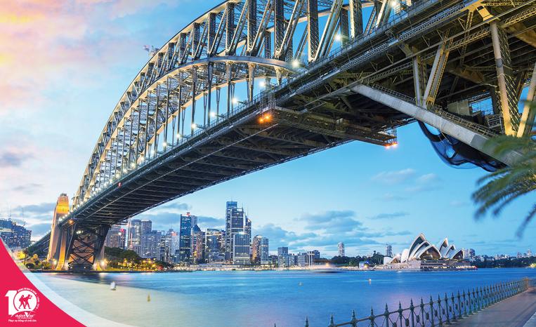 Du lịch Úc - Melbourne - Sydney - Ngắm lễ hội hoa Tulip mùa Xuân từ Sài Gòn giá tốt