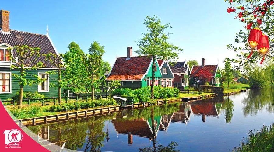 Du lịch tết âm lịch 2019 - Tour Pháp - Bỉ - Hà Lan từ Sài Gòn giá tốt