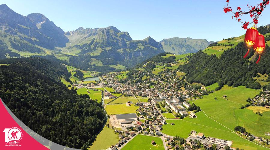 Du lịch tết nguyên đán 2019 - Tour Pháp - Thụy Sĩ - Đức từ Sài Gòn giá tốt