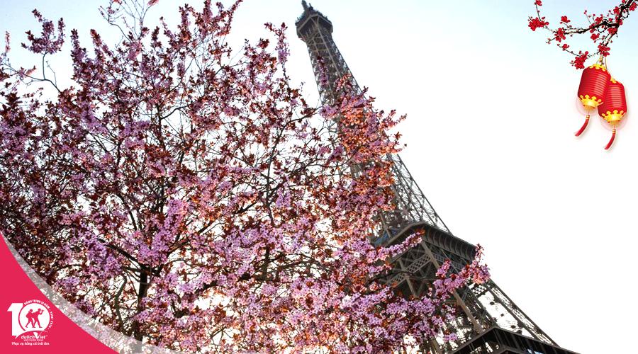 Du lịch tết âm lịch 2019 - Tour Pháp - Luxembourg - Bỉ - Hà Lan từ Sài Gòn